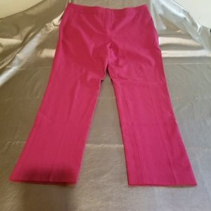 Vince Camuto Red Super soft Straight Leg Pants